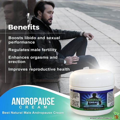 Andropause Cream - Increase Progesterone in Men